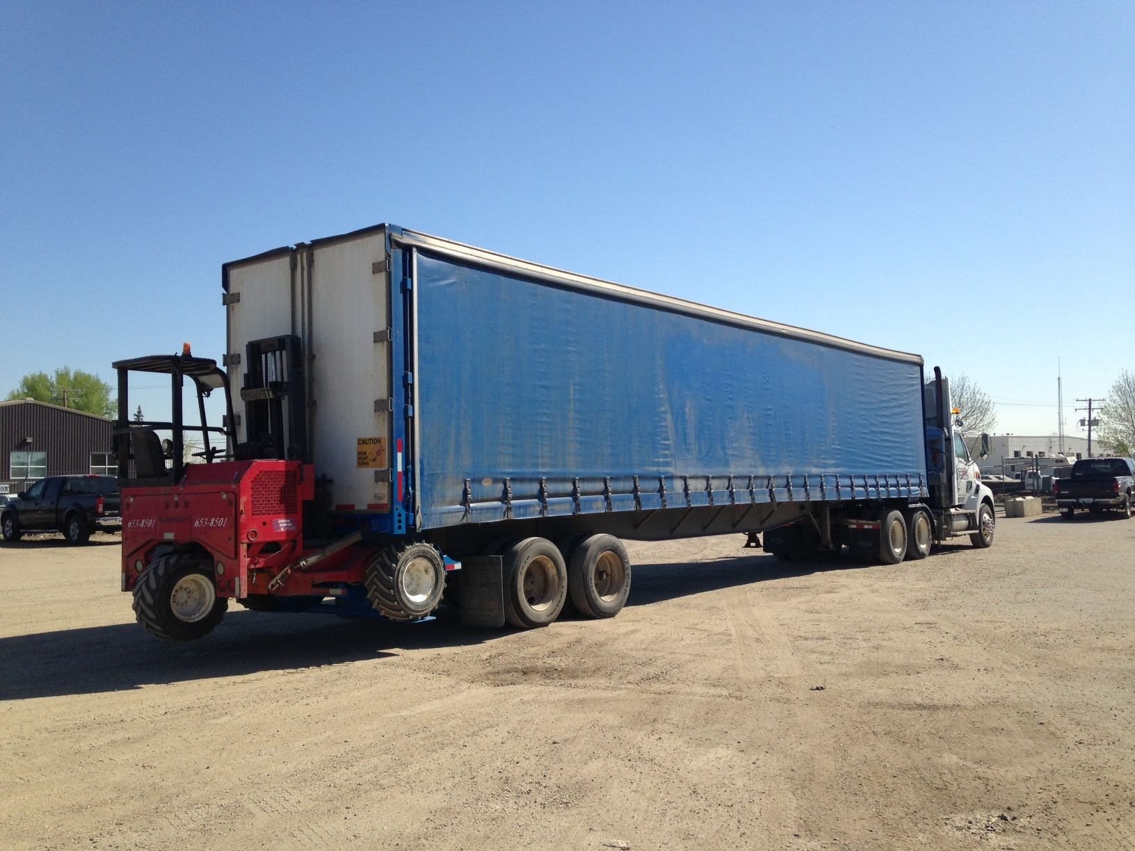 Semi and 50 moffet