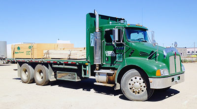 five ton flatdeck