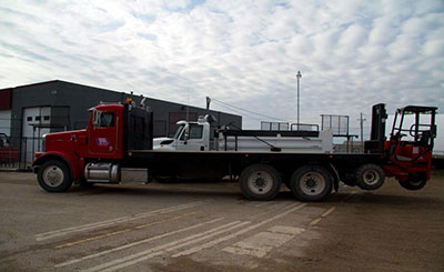 five ton portable forklift truck