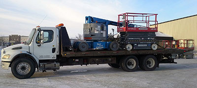 tilt decks vehicle and equipment haulers
